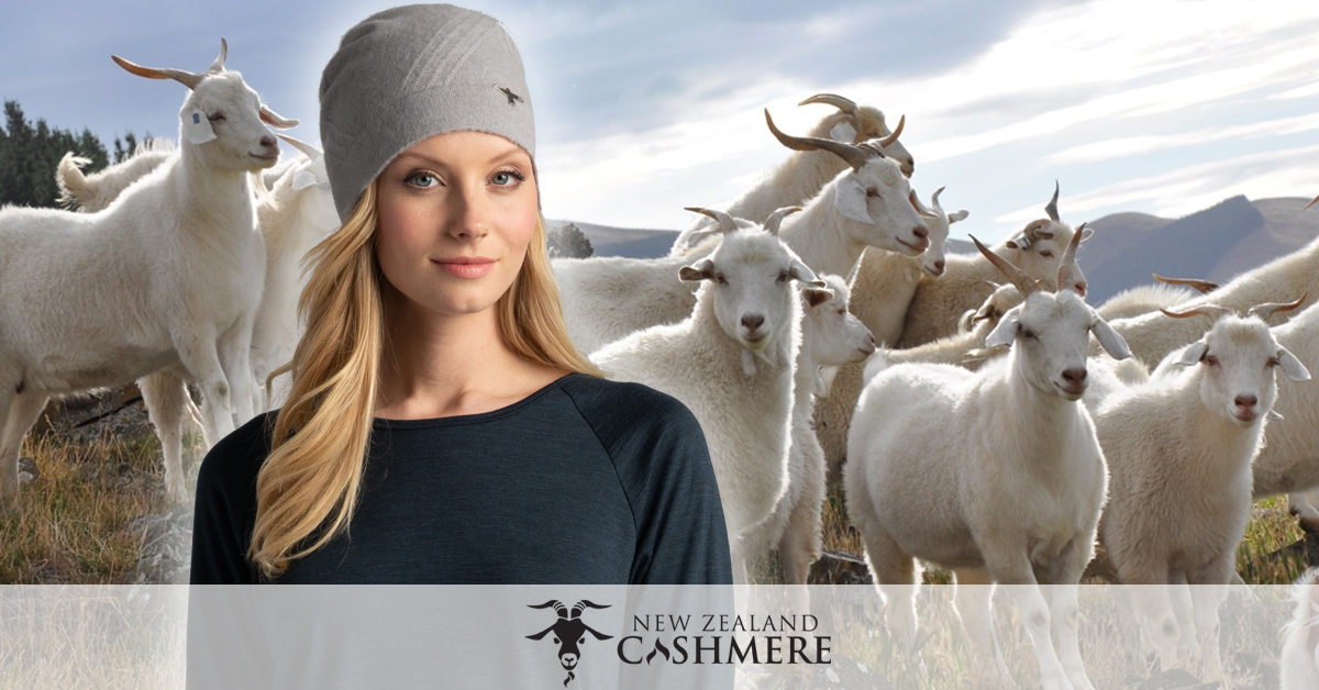 NZ Cashmere - Untouched World's Cirrus Hat in Whisper